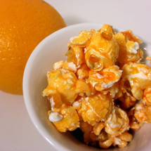 orange gourmet popcorn