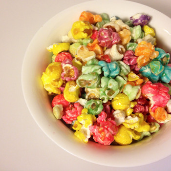 rainbow mix gourmet popcorn