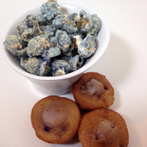 blueberry muffin gourmet popcorn
