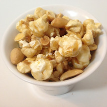 caramel peanut gourmet popcorn