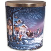 3 Gallon Winter Wonderland Gourmet Popcorn Tin