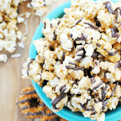 Girl Scout cookie Gourmet Popcorn