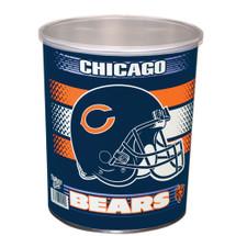 Chicago Bears 1 Gallon Popcorn Tin