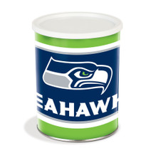Seattle Seahawks 1 Gallon Popcorn Tin