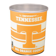 University of Tennessee 1 Gallon Popcorn Tin