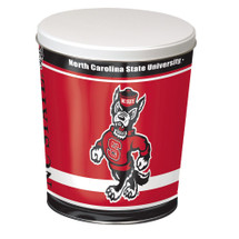 North Carolina State 3 Gallon Popcorn Tin