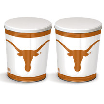 University of Texas 3 Gallon Popcorn Tin