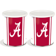 University of Alabama 1 Gallon Popcorn Tin