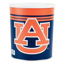 University of Auburn 1 Gallon Popcorn Tin