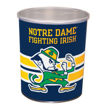Notre Dame 1 Gallon Popcorn Tin
