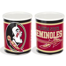 Florida State Univ. 1 Gallon Popcorn Tin