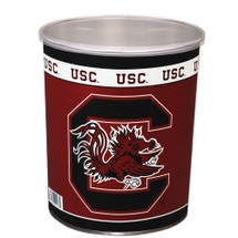 Universityof South Carolina 1 Gallon Popcorn Tin