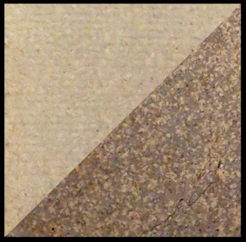 McKenzie (Mac's) Stoneware, left: cone 10 oxidation, right: cone 10 reduction