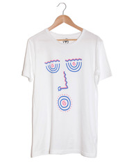 Acid Eyes White T-Shirt