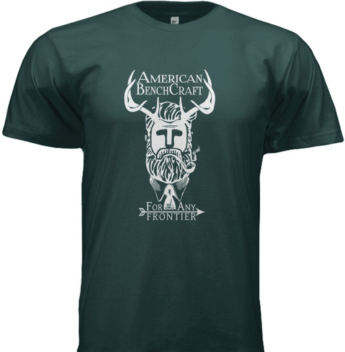 American Bench Craft Hipster Man T-Shirt, Reading, MA