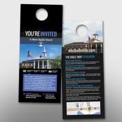 """""""You're Invited"""" Door Hanger (small) #14166"""