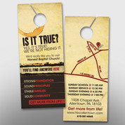 """Is It True?"" Door Hanger (small) #14180"