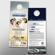 """Looking For a Church Home"" Door Hanger (large) #14225"