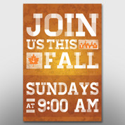 """Join Us This Fall"" Banner #14156"