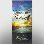 """Through Faith"" Theme Banner #14201"