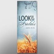 """Look On The Fields Theme Banner #14215"