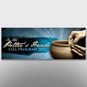 """In The Potter's Hands"" Theme Banner #14075"