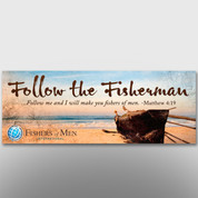 """Follow the Fisherman"" Theme Banner #14112"