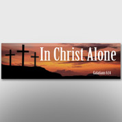 """In Christ Alone"" Theme Banner #14141"