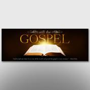 """""""Still The Gospel"""" Theme Banner #14211"""