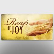 """Reap In Joy"" Theme Banner #14217"