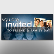 """Friend & Family Day"" Banner #14233"