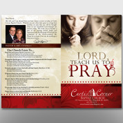 """Lord, Teach Us To Pray"" Bulletin #14100"