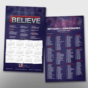 iBelieve Theme Calendar #14193