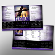 LIfting Up Jesus Theme Calendar #14023