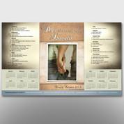 """Him Whom My Sould Loveth"" Theme Calendar #14090"