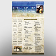 """Lifting Up Jesus"" Theme Calendar #14137"