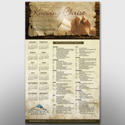 """Knowing Christ"" Theme Calendar #14199"