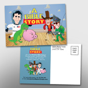 """A Bible Story"" VBS 4 x 6 Postcard #14051"