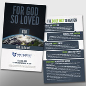 """God So Loved You"" Invite Card #14002"