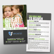 """Great News - You're Invited"" Invite Card #14004"