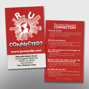"""R U Connected?"" Invite Card #14163"