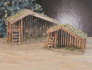 Nativity Wood Stables, 7,11 and 16 inch Sizes