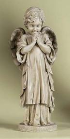 Praying Angel Child Garden Statue