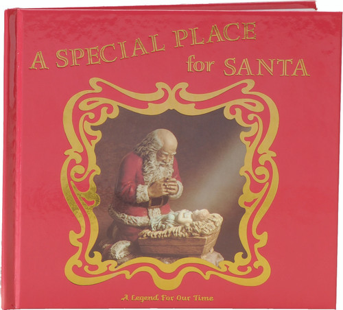 """A Special Place for Santa Hardcover Book 7.5"""" x 8.5"""""""