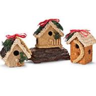 Decorative Edible Birdfeeders