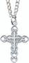 Girls Cross and Heart Pendant (160019)