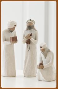 Willow Tree - The Three Wisemen Nativity Pieces