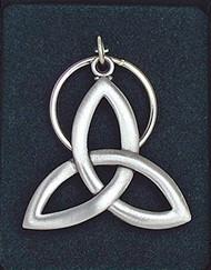 Trinity Knot Key Ring
