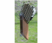 Songbird Essentials Suet Window Bird Feeder with Tail Prop