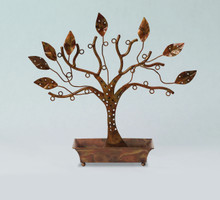 Ancient Graffiti Small Jewelry Tree with Rectangle Tray